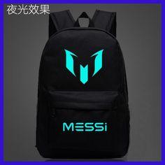 3f3f5ae2eb Logo Messi Backpack Bag Men Boys Barcelona Travel Bag Teenagers School Gift  Kids Bagpack Mochila Bolsas