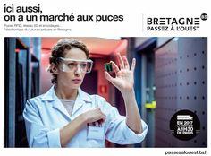 BRETAGNE PASSEZ À L'OUEST Region Bretagne, Corporate Communication, Copywriting, Paris, Advertising, Images, Typography, Marketing, Studio