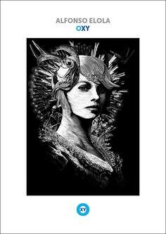 ALFONSO ELOLA - OXY illustrations
