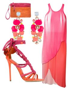 """""""Popsicle pink"""" by alvernacecilia on Polyvore featuring mode, STELLA McCARTNEY, Chico's, Accessorize en Brian Atwood"""