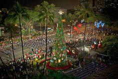 Gli eventi per festeggiare il Natale alle Hawaii