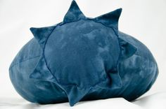 Blueberry Pillow by Bfiberandcraft on Etsy