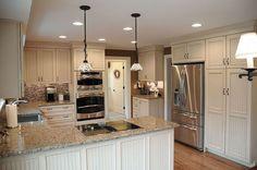 Hometalk :: Kitchen Remodel with Beaded Panel Door