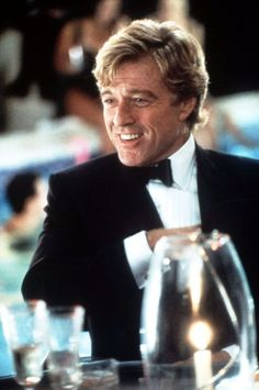 Nowadays, Robert Redford is known as a screen legend and the founder of the Sundance Film Festival, but there was a time when he was the Brad Pitt of Hollywood. Robert Redford, Sundance Kid, Hollywood Actor, Classic Hollywood, Indecent Proposal, Roger Moore, Actrices Hollywood, Handsome Actors, Raining Men