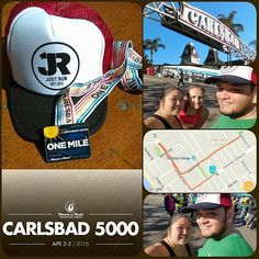 Carlsbad 5000 One Miler - Day 1 done... Excited for the 5K tomorrow. by joalby1