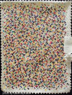 Scrap Happy #3 by Kathy MacCleary. Photo by Quilt Inspiration; Quilt Arizona show