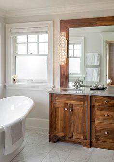 Custom Bathroom by South Shore Cabinetry, Vancouver Island, BC #bathroom #customcabinetry #interiordesign