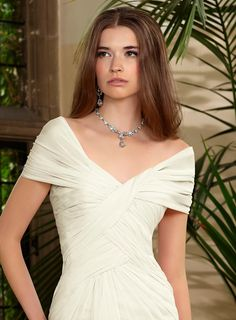 Get latest destinations collection of wedding dress in Nottinghamshire. It has attractive range of chiffon gowns and perfect for formals too. For more information visit : www.ronaldjoyce.com