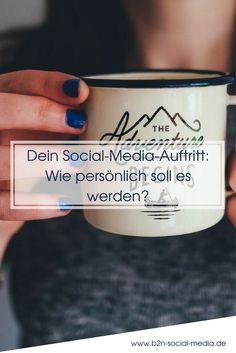 Damit Dein Social-Media-Auftritt abgerundet ist, gehört eine Prise Persönliches dazu. So zeigst Du Dich menschlich und regst andere zur Kommunikation an.