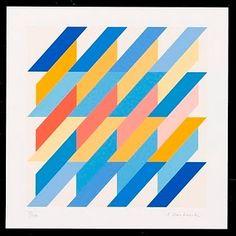 Grandiose Geometrics from Anton Stankowski