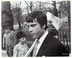 """Oliver Reed in director Michael Winner's """"I'll Never Forget What's 'Isname"""", 1967. Orson Welles is stellar as the head of the London ad agency where Reed works."""