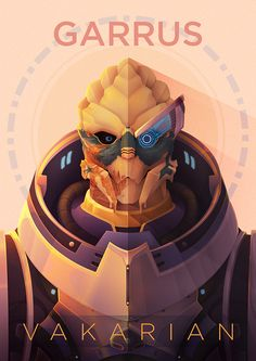 """Garrus Vakarian"" by Allistair Right #MassEffect #Garrus"
