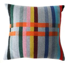Wallace Sewell cushions, designed exclusively for the London Transport Museum to celebrate 150 years of the tube. www.wallacesewell.com