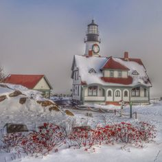 New Years Eve at Portland Head Light in Cape Elizabeth