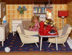 VERO Puppenstube vom Virtuellen Museum für DDR-Spielzeug...© Sylvia Wentzlau