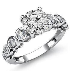 $5,949  -  * GIA CERTIFIED * 1.45 CT ROUND DIAMOND SOLITAIRE RING ON 14K SOLID WHITE GOLD F 26 D http://www.amazon.com/dp/B00M38TNP0/ref=cm_sw_r_pi_dp_JuuBub17VZZG7