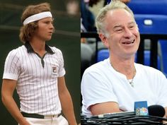 John McEnroe, won seven Grand Slam singles titles (three at Wimbledon and four at the US Open), nine Grand Slam men's doubles titles, and one Grand Slam mixed doubles title Tennis Scores, Tennis Rules, Tennis Tips, Sport Tennis, Atp Tennis, How To Play Tennis, Tennis Pictures, Tennis Serve, Tennis Legends