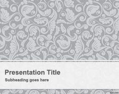 Free Vintage PowerPoint Template is a free vintage background for presentations that you can download if you are looking for a simple background with vintage theme style