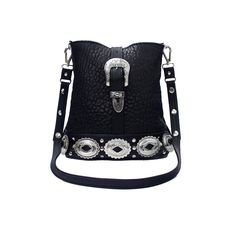 Image of L A I R Leather Jeff Buckley Bag Bubble