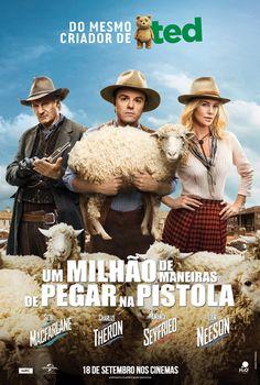 """""""Um Milhão de Maneiras de Pegar na Pistola"""" estreia em 18 de setembro. Trailer: http://youtu.be/AR9q404zHFo"""