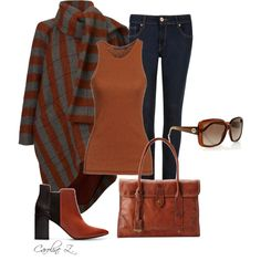 """Fall Outfit"" by carolinez1 on Polyvore"