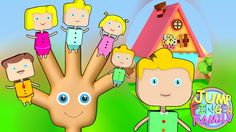 The Finger Family Song | Nursery Rhymes & Songs For Children