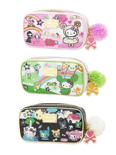 I love the Tokidoki Hello Kitty stuff.And these are adorable.I would love one of those for college.