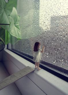 50 Examples of Rain Photography to Lay Aside Your Sadness Cool Pictures For Wallpaper, Scenery Wallpaper, Girl In Rain, Little Girl Photos, Photographie Portrait Inspiration, Miniature Photography, Cute Cartoon Pictures, Girly Pictures, Lovely Girl Image
