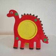 Cadre photo rouge  (décoration pour chambre d'enfants)
