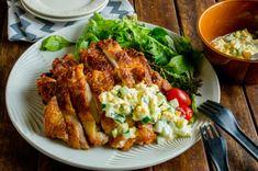 1枚唐揚げ&タルタルソース Favorite Recipes, Meat, Chicken, Drink, Food, Beverage, Essen, Meals, Yemek