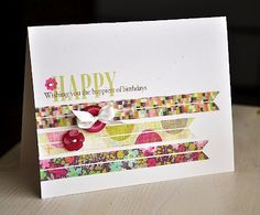 Maile belles : great use of scraps, love the stitching and button