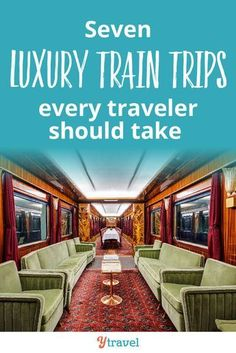 If you love train travel, click through now to see these l… 7 luxury train trips. If you love train travel, click through now to see these luxury train trips to put on your travel bucket list. Amtrak Train Travel, Europe Train Travel, Scenic Train Rides, Time Travel, Travel Usa, Places To Travel, Travel Destinations, Train Rides In Colorado, Disney Travel