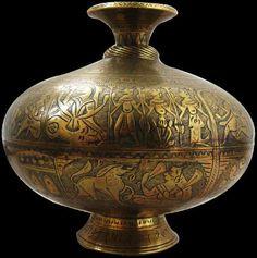 Indian Chambu Lota Holy Water Vase - Michael Backman Ltd Hindu Rituals, Craft Museum, Copper, Brass, Pooja Rooms, Antique Show, Historical Art, Islamic Art, Asian Art