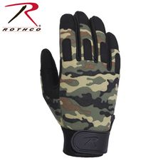 Rothco Camo Lightweight All Purpose Duty Gloves