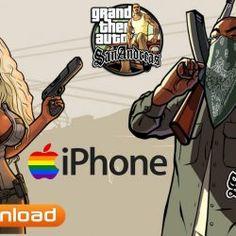 GTA SA - Grand Theft Auto San Andreas for iPhone Free Download San Andreas Game, Gta 5 Games, Rockstar Games, Grand Theft Auto, Games To Play, Ios, Iphone, Free