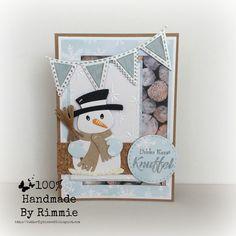 Hallo allemaal,     Vandaag een winters kaartje met mijn vertrouwde MD materialen.   De lieve sneeuwpop had ik al mogen gebruiken voor ...