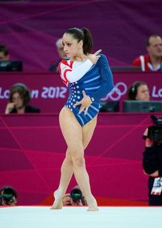 Jordyn Wieber of the U.S. competes on the floor exercise during London Olympics women's gymnastics event finals.