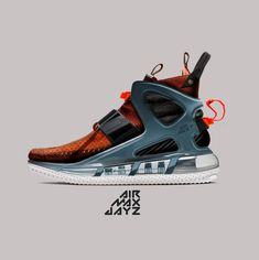 Hybrid mockup shoes creation on Behance Mens Boots Fashion, Sneakers Fashion, Shoes Sneakers, Snicker Shoes, Futuristic Shoes, Sneakers Sketch, Shoe Sketches, Best Basketball Shoes, Trendy Shoes