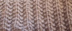 Les fausses côtes anglaises. - L'atelier tricot de Mam' Yveline. Knitted Washcloths, Crochet Granny, Le Point, Washing Clothes, Knitting, Handmade, Diy, Cardigan Bebe, Cactus