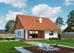 projekt domu C333b Miarodajny - wariant II - Murator projekty Home Fashion, Exterior Design, Ideas Para, House Design, Outdoor Structures, House Styles, Outdoor Decor, Home Decor, Character Design