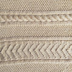 New England Knitting // Blog Post // Gloucester Baby Blanket // Hand Knit