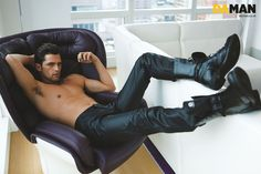 Sean OPry Graces the Pages of Indonesian Mag Da Man