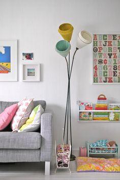 Nice colors - love the tivoli lamp