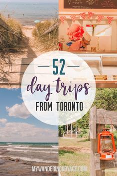 52 incredible day trips from Toronto for every traveller, TRAVEL, Are you an explorer? A foodie? Or how about a beach bum? There's something for everyone in this list of fantastic day trips from Toronto Ontario Travel, Toronto Travel, Visit Toronto, Medan, Cheltenham Badlands, Travel Guides, Travel Tips, Solo Travel, Budget Travel