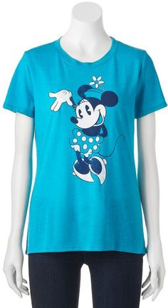 Disney's Minnie Mouse Juniors' Cute Pose Graphic T…