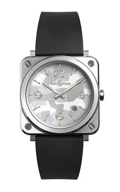 MO Exclusive: Ladies' BRS Grey Camouflage Wristwatch  by Bell
