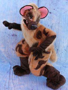 Hyena fursuit