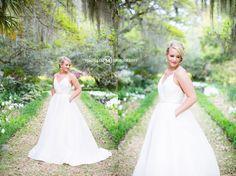 Airlie Gardens Wedding Photographer   Airlie Gardens Bride   Wilmington NC   Magnolia Photography http://airliegardens.org/ @airliegardens