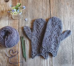 Lady By The Bay: Woodland Tales Mittens