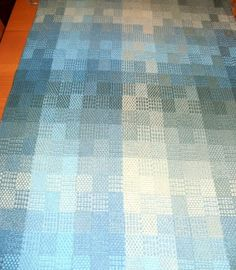 Sarah H. Jackson, Textile Artist: 4 Block, 4 Shaft Summer & Winter in Bambu 7